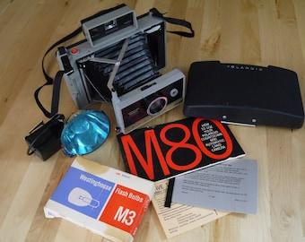 Vintage Polaroid Land Camera M80 Coutdown Automatic