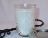 Jamaica Me Crazy - Soy Mason Jar Candle, Handmade Scented Soy Candle, 8oz