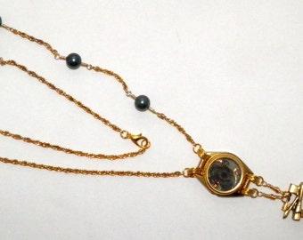 Golden Owl Necklace