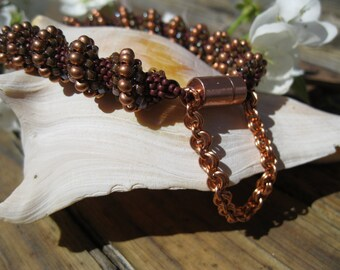 Earth Cellini Spiral Bracelet