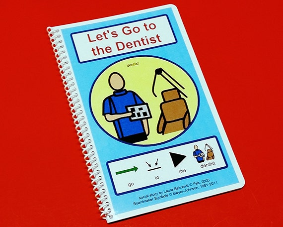 Autism Social Stories - Let's Go To The Dentist - PECS Autism Social Skills Story - ABA