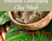 Rhassoul Detoxifying Face Mask - set of 5
