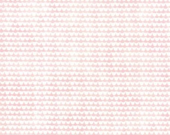 Basicgrey Fresh Cut for Moda - Floral Lilac Meadows - Pink - Pink Flambe - 1/2 yard cotton quilt fabric