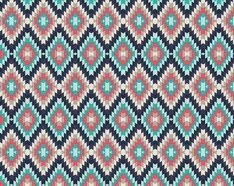 Kilim Inherit Shadow (Knits) - Recollection - Katarina Roccella - Art Gallery Fabrics - 1 Yard