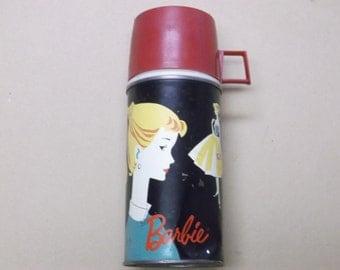 Vintage 1962 Barbie Thermos