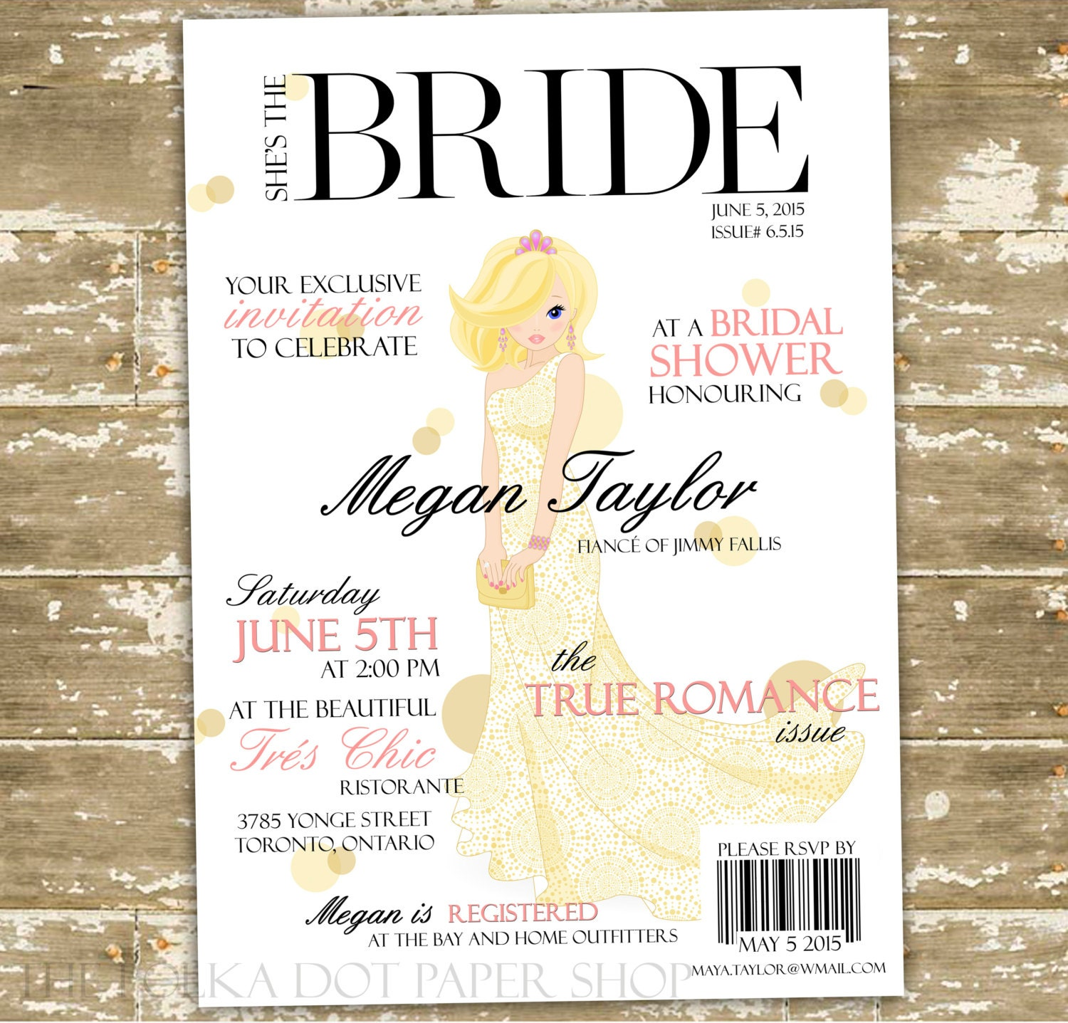 diy bridal shower invitation print at home high fashion On how to make bridal shower invitations at home
