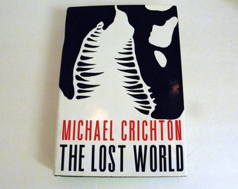 The Lost World by Michael Crichton 1995 HCDJ 1st / 1st