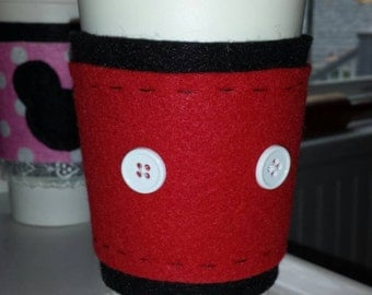 Mickey Mouse inspired travel mug cozy and travel mug Cyber Monday!