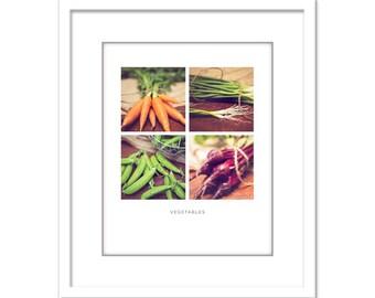 Food Photo - Kitchen Decor - Minimalist Photo - Food Photography - Dining Room - Fine Art Photography Print - Red Orange Green Modern Decor