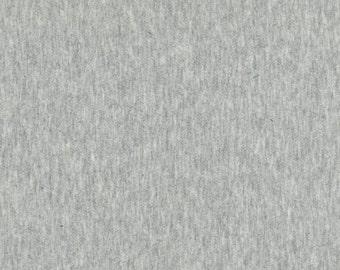 Robert Kaufman Jersey Knit Heather Grey 1/2 Yard