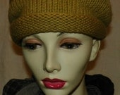 hand knitted item in maize color - wool, cashmere, silk blend - Size S/M RESERVED FOR LIZ