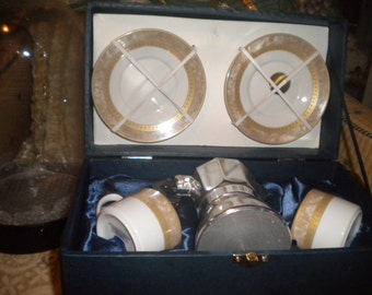 T. Bavaria, Designed in Germany, Beautiful Espresso Set, Eclectic Dining