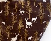 baby blanket, toddler blanket, deer baby blanket, minky blanket, timber valley bark, wildlife blanket, adult minky blanket, augie and lola