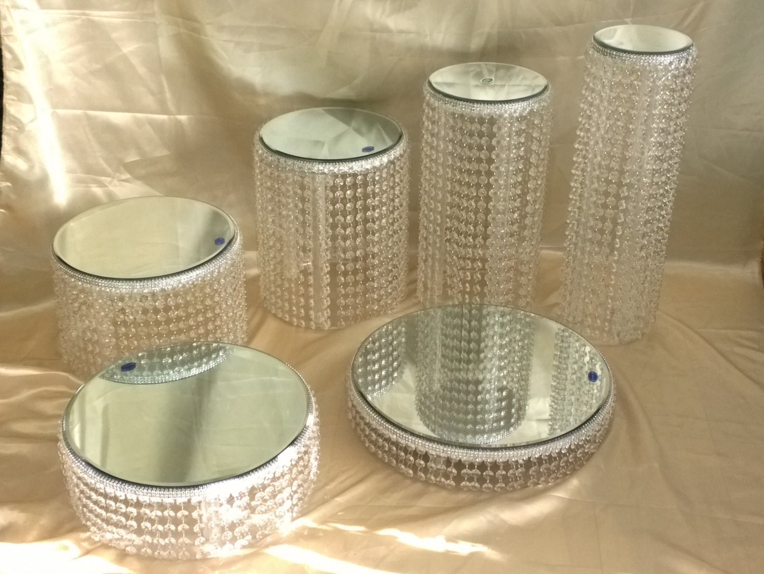 acrylic cake stand wedding cake stands Crystal cake stands 1 2 3 4 5 or 6 tiers in acrylic crystal wedding cake stand sets