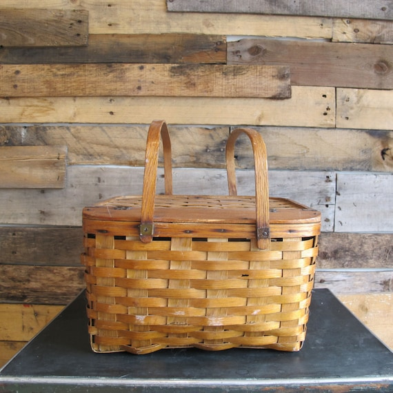 Picnic Basket Pie : Vintage picnic basket pie
