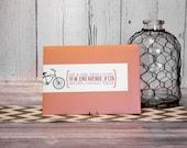 Orange Tandem Bicycle Per...