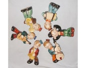 Vintage 6 Musical Figurines, Who's In The Band? Whimsical (Bx 3)