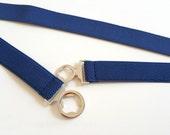 Blue Waist belt, Blue belt, Cinch Belt, Mens Belt, Women Belt, Stretch belt, elastic belt, Oversize, plus size available no. A085