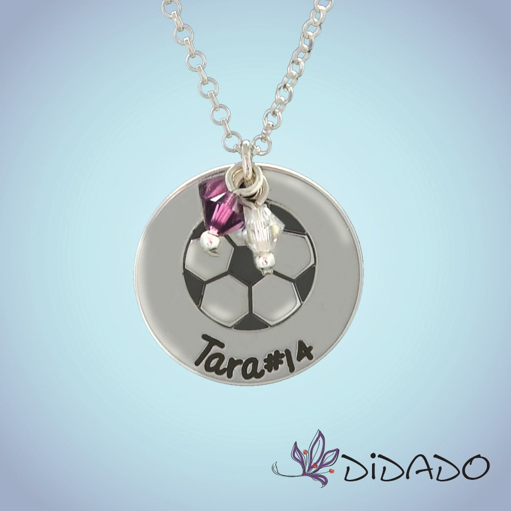 personalized jewelry soccer mom necklace charm by. Black Bedroom Furniture Sets. Home Design Ideas