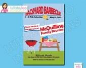 Family Reunion Invitations - Printed Invitations - Custom Invitations