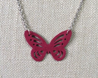 Butterfly pendant made from paper