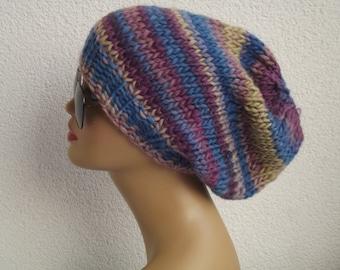knit beanie beret valentine day  gift accessories berets knit beret beanie chunky slouchy beret beanie