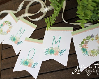 Mother's Day Banner Instant Download