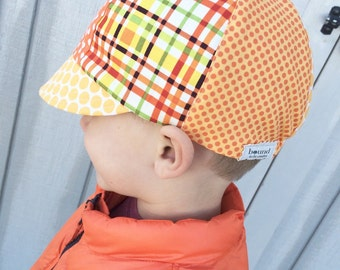 Boys Fabric Biker Hat, Baseball Hat for Boys, Lightweight Fabric Boys Cap, Cap for Boys, Boys Beach Cap, Boys Hat, Helmet Hat, Boy Beach Hat
