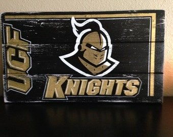 UCF Knights-Collegiate Sign-Made to order-Pick your team-10x18""