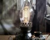 Colonial Lincoln Lamp - Colonial Light - Lincoln Lantern - Desk Light - Table Light - Civil War - Edison Lamp