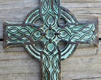 Cast Iron Celtic Cross