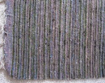 Rustic Woven Wool Rug - Kilim