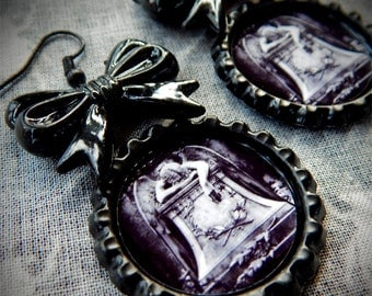 Angel of Grief earrings