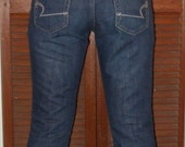 Jeans Denim Womens Retro Flare American Eagle Sm-Med Tall length Never Worn