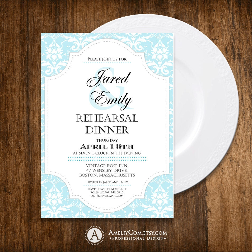 It's just a photo of Obsessed Printable Rehearsal Dinner Invitations