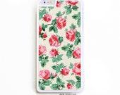 iPhone 6 Plus Case. iPhone 6+ Case. Roses Floral. Phone Case. iPhone Case. Floral Phone Case. 6 Plus Case.