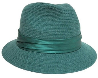 Emerald Wool Fedora
