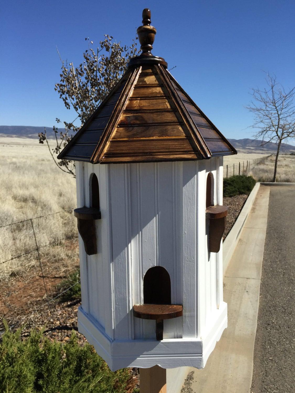Dovecote fancy birdhouse large bird house custom dovecote for Large houses