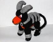 Houndoom Crochet Plush