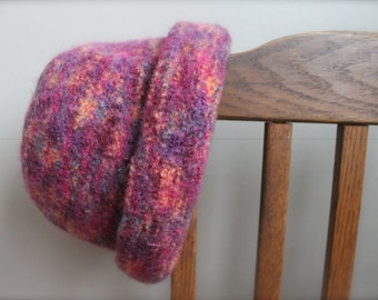 Child Felted Wool Hat, Child Wool Hat