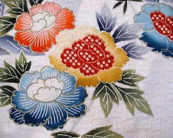 Mug Mat or Vase Mat,Silk kimono fabric #3