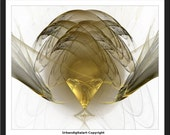 Golden Chalice-LOW COST-Downloadable Fine Art  Print-Will look Beautiful On Any Wall At Home Or The Office