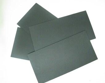 "Kydex, Calcutta Black, Sheets, 4"" x 8"" - 12pk"