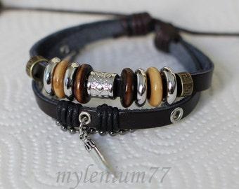 287 Men bracelet Women bracelet Tooth bracelet Charm bracelet Beads bracelet Rings bracelet Leather bracelet Fashion bracelet