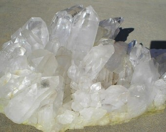 REDUCED White Quartz Crystal Table Top Specimen Reiki Feng Shui Metaphysical 20 Pounds