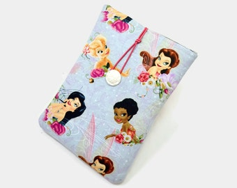 Tablet Case, iPad Mini Cover, Angle, Princess, Fairy,  Kindle Fire 7 Sleeve, 7 inch Tablet Sleeve, Cozy, FOAM Padding, 7 inch, Holiday Gift
