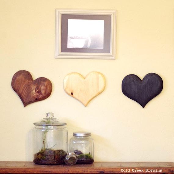 Enchanting Wooden Heart Wall Decor Frieze - Wall Painting Ideas ...