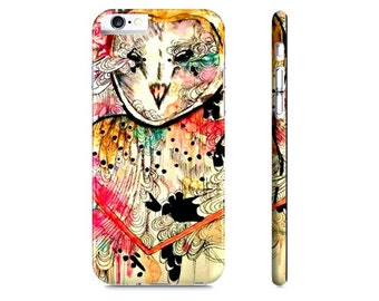 iPhone 6 case - Owl art -  Watercolor animal - Owl iPhone 6 case - iPhone 6 cover - Cell Phone Case - iPhone cover - Cell Phone case