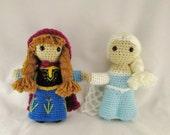 Elsa and Anna Frozen Doll Set