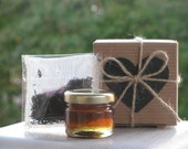 Set of 35 - Cup-Of-Tea-In-A-Box - Fine Tea & Gourmet Honey - Favor Boxes for Tea Parties, Bridal Shower, Wedding Favours and More